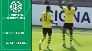 6:1 - BVB zerlegt Leverkusen | Alle Tore der A-Junioren-Bundesliga | 6. Spieltag