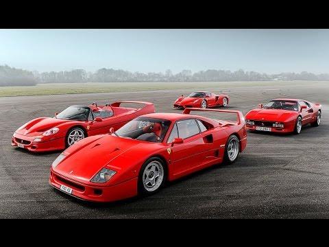 Ferrari Enzo, F40, F50 & 288 GTO - Top Gear iPad Magazine