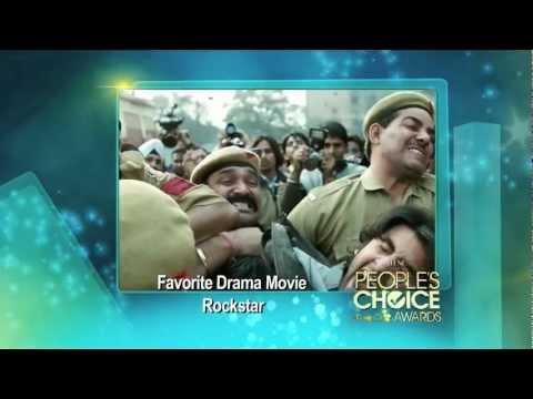 Rockstar wins Favorite Drama Movie at People's Choice Awards 2012 [HD]