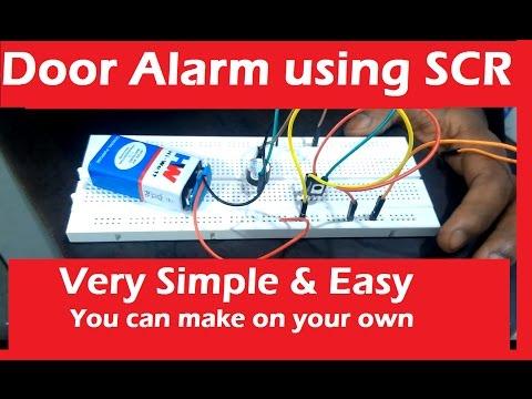 How to make Door Alarm using SCR