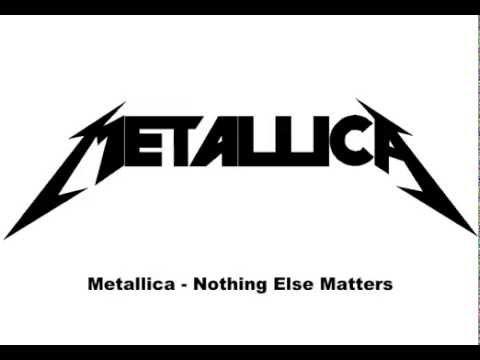 Metallica - Nothing Else Matters (Pronunciación y letra en español)
