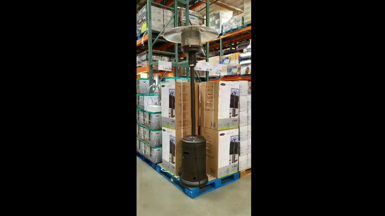 costco mocha commercial patio heater 119