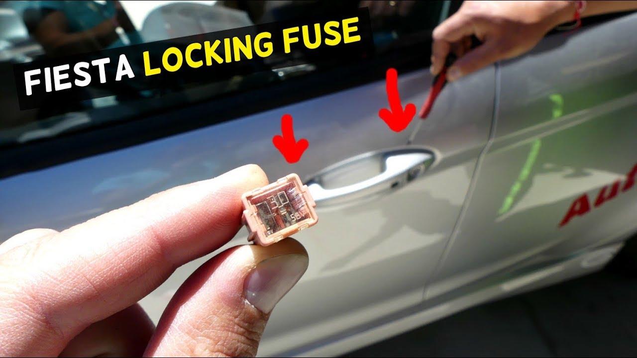 Ford Fiesta Central Locking Unlocking Fuse Location Mk7 St