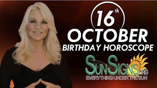 Birthday October 16th Horoscope Personality Zodiac Sign Libra Astrology