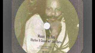 jah batta and rhythm & sound - music hit you - burial mix bm-13-a 2003 dub reggae