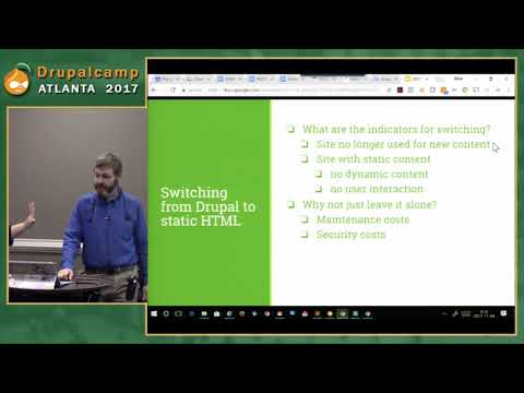 DCATL 2017 - All Good Things Must Come to an End Archiving Your Drupal Site to Amazon S3 on YouTube