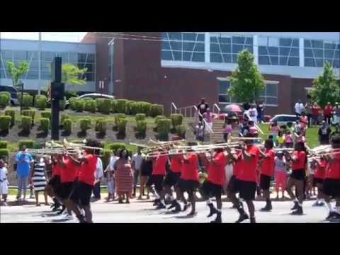 Shaw High School @ East Cleveland Memorial Day Parade, May 26, 2014