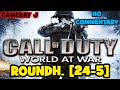 Call of Duty: World at War | TDM on RoundHouse [24-5]