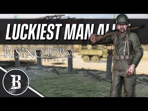 LUCKIEST MAN ALIVE | Rising Storm (Red Orchestra 2) Gameplay