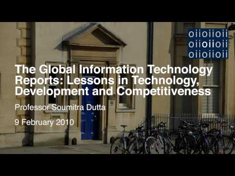 The Global Information Technology Reports- Lessons in Technology, Development and Competitiveness_1