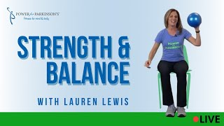 Power for Parkinson's Strength & Balance Live Streaming Day 333