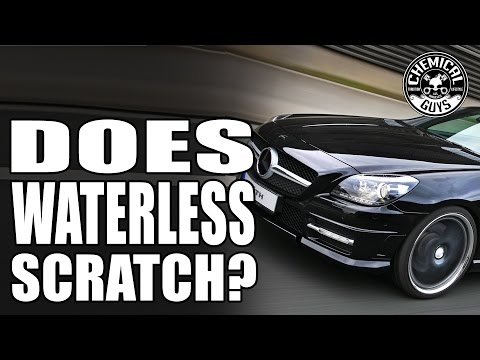 Do Waterless Car Washes Scratch Paint? Chemical Guys EcoSmart