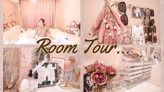 【Room Tour♡】模様替えした寝室紹介!!【ルームツアー】 thumbnail