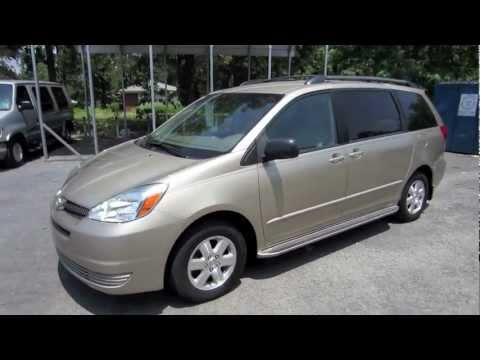 Short Takes 2004 Toyota Sienna LE Start Up Engine Full Tour