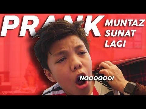 PRANK MUNTAZ SUNAT REVISI **dia Shock Dan Nangis** #PrankGenHalilintar