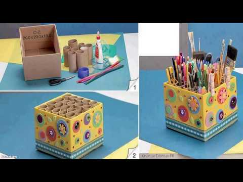 CREATIVE IDEAS TO RECYCLE SHOE BOXES