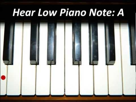 Hear Piano Note - Lowest A