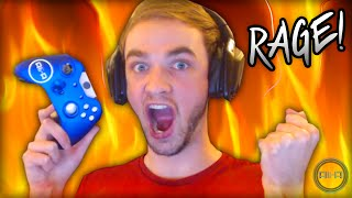 ALI-A RAGES! - Broken Controller Story...