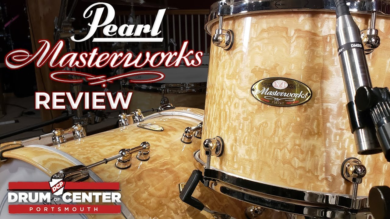 Pearl Masterworks Exotic Drum Set Review Tamo Ash Youtube