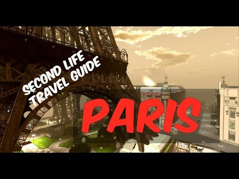 Real Life Places in Second Life ~ Paris