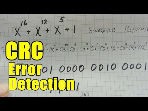 CRC Error Detection In Embedded Applications