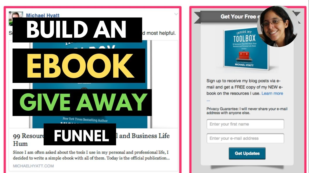 How To Create an Ebook Giveaway Funnel with Builderall - Lead Magnet Funnel