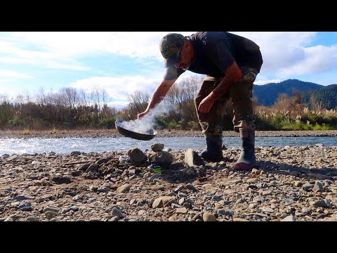 TROUT Fishing -The Dams & Bluefin TUNA Cook Up By The River