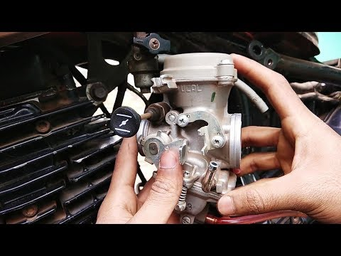 How good is Pulsar 150's carburettor in yamaha szr? How to install |