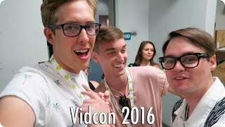 Vidcon 2016 Panels and Parties!   Evan Edinger Travel Vlogs