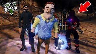 I FIND THE FORTNITE IN GTA 5!! (secret mine) - GTA V Mods