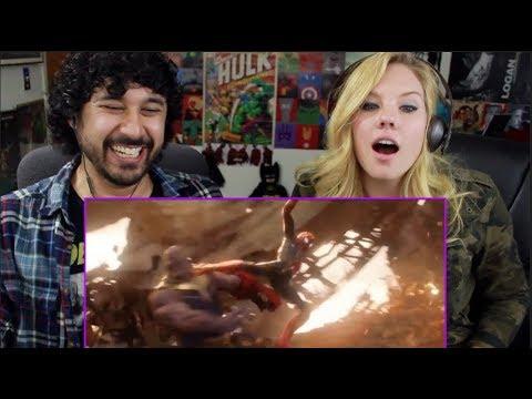 AVENGERS: INFINITY WAR  SpiderMan Kicks Thanos & 10Year Legacy Featurette TRAILER REACTION!!!