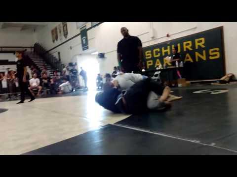 Ed Nelson at Schurr High School SoCal championship Jiu Jitsu tournament