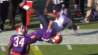 Biggest Football Body Slam Tackles of All Time ᴴᴰ