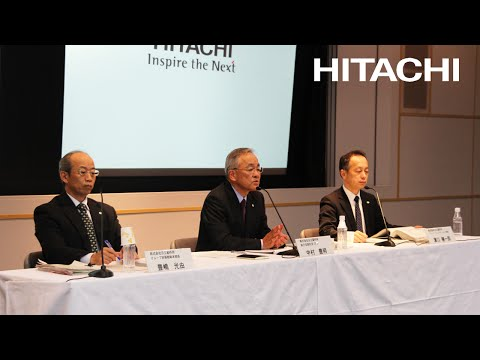Meeting for institutional investors and financial analysts on FY2015-3Q earnings - Hitachi