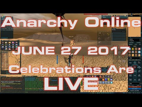 Anarchy Online 18.9 June 27th 2017 The Celebrations Are LIVE !