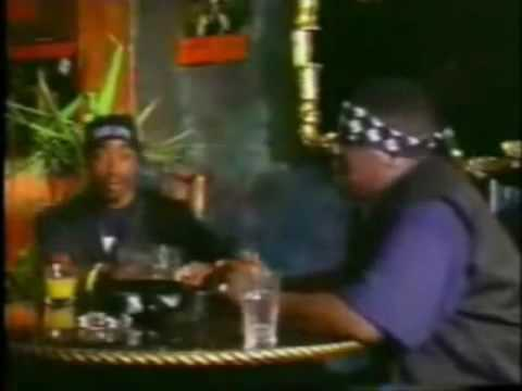 Bigge B.I.G and 2 Pac Freestyle Battle Live
