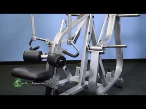 Used Nautilus XPLoad Plate Loaded Lat Pull-Down Fitness Machine  Remanufactured For Sale