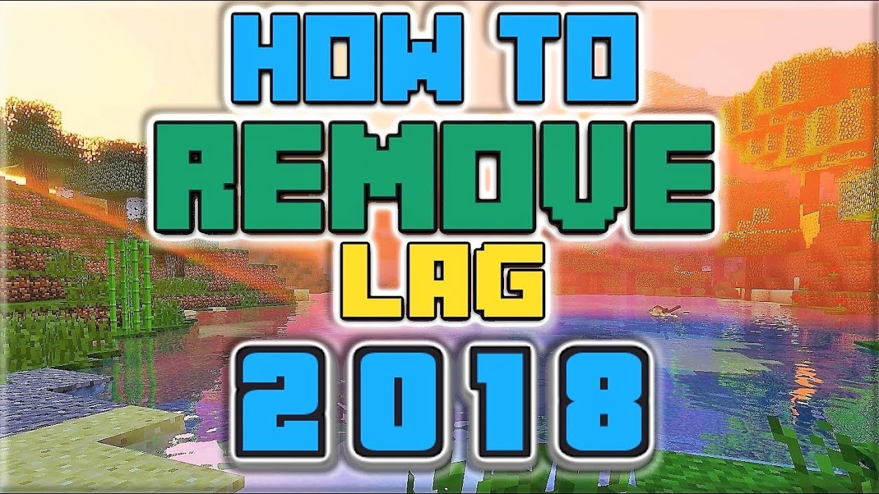 How to Remove Shader Lag for Minecraft! (2018) 60+ FPS