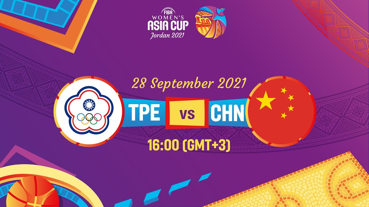 Chinese Taipei v China   Full Game   FIBA Women's Asia Cup 2021 - Division A