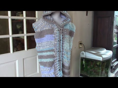 Haken Tutorial 352 Bodywarmer Met Capuchon Youtube