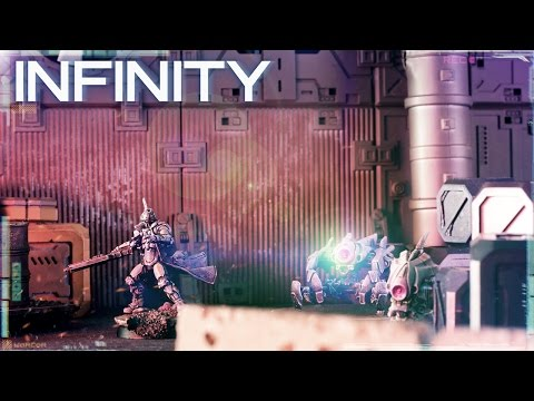 Infinity Battle Report: PanO VS Nomads Capture & protect