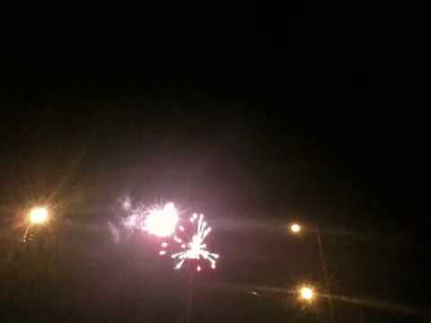 Canada Day Fireworks, Harris Park, London Ontario