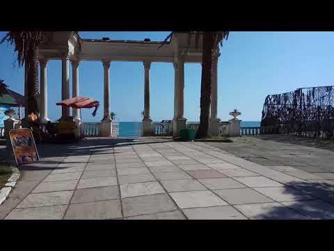 Абхазия.Сухум.пляж МВО.июнь 2018.