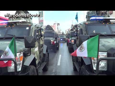 DESFILE MILITAR 2014 EN H MATAMOROS, TAMAULIPAS