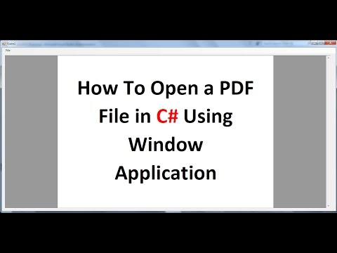 C# Tutorial 45: iTextSharp : Add table into existing PDF