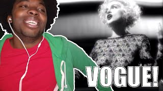 FIRST TIME HEARING Madonna - Vogue (REACTION!!!)