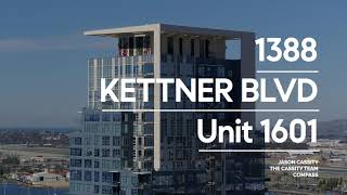 1388 Kettner Blvd Unit 1601 | SAVINA By BOSA Condo For Sale | Downtown San Diego Real Estate