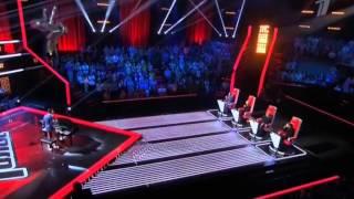 "Голос 3 сезон - Самвел Варданян ""Song for you"" (Песня для тебя)"