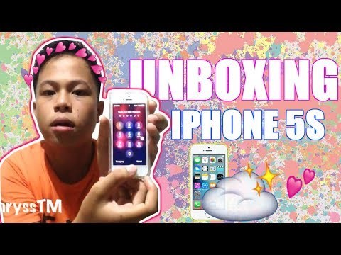 IPHONE 5S UNBOXING 2018 (PHILIPPINES) l Khryss Kelly