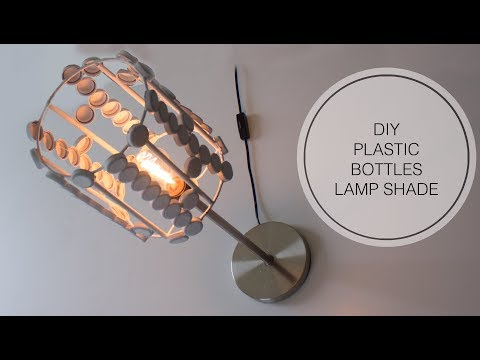 DIY Plastic Bottle Caps Lamp shade